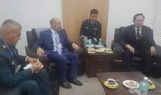 الصراف التقى وزير دفاع كوريا الجنوبية خلال زيارته الرسمية للبلاد