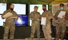 الجيش: تخريج وتوزيع إفادات على عناصر من فوج التدخل السادس