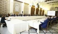 اجتماع تنسيقي برئاسة عكر في السراي الحكومي لمناقشة خطة الاستجابة الوطنية عقب انفجار المرفأ