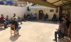 """اجتماع تنسيقي لمؤسسة معروف سعد مع الجمعيات بحملة """" صيدا تواجه كورونا"""""""