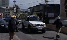 النشرة:تدابير امنية مشددة في مدينة النبطية تطبيقا لقرار التعبئة الصحية