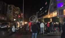 """النشرة: محتجون من """"حراك صيدا"""" أقفلوا مسارب عند تقاطع إيليا تمهيدا لإضاءة شعلة الثورة"""