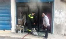 فرق الاطفاء تخمد حريقين مفتعلين في بعلبك
