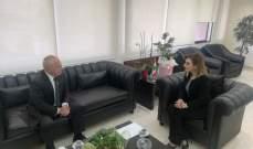 وزيرة الشباب التقت سفير ارمينيا: بحثنا العلاقات الثنائية ودعاني لزيارة بلاده