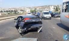4 جرحى نتيجة تصادم بين مركبتين على أوتوستراد الرميلة باتجاه صيدا