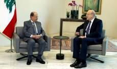الرئيس عون عرض مع زواره الوضع الحكومي واطلع على التطورات الجنوبية من قيادة الجيش