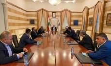 فهمي عرض مع وفد اتحاد بلديات وسط وساحل القيطع لشؤون إنمائية وخدماتية