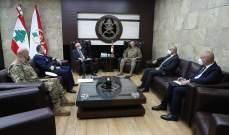 قائد الجيش التقى سفير المغرب وشكر ملك بلاده على الهبة المقدمة للمؤسسة واللبنانيين
