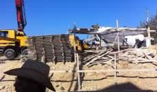 بدء المرحلة الأولى من إعادة إعمار كنيستي مار الياس ومار جرجس في بريح