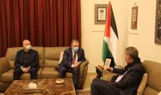 السفير دبور يستقبل المفوض العام للانروا فيليب لازاريني