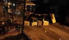 النشرة: إغلاق الشارع الفوقاني لمخيم عين الحلوة احتجاجا على الاستنفار المسلح