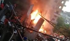 رئيس بلدية بخعون: ننتظر التحقيقات لتحديد أسباب الحريق بمحطة الوقود والأضرار جسيمة