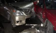 النشرة: جريح في حادث سير على مفترق دلاعة - ساحة القدس في صيدا