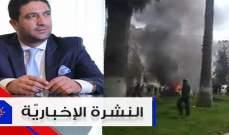 """موجز الأخبار: وزير شؤون النازحين يزور سوريا وتفجيران يستهدفان """"هيئة تحرير الشام"""""""