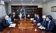 الرئيس عون التقى كومار جا وطراف ورشدي وتسلم منهم تقريراً عن المرحلة الثانية من خطة اعادة اعمار المناطق المتضررة