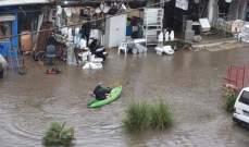 بلدية الغبيري: كمية الأمطار كانت كبيرة جدا والطريق الدولية أصلا ليست من صلاحية البلدية