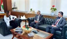 عبد الصمد عرضت مع الهمامي لتعزيز العلاقات بين وزارة الإعلام واليونيسكو