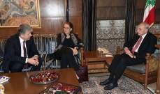 بري التقى اللواء ابراهيم ومنسق الأمم المتحدة بلبنان والقاضي جان فهد