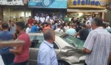 اصابة مواطن جراء حادث سير عند نزلة الجامعة الإسلامية في صور