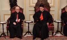 بطريرك الأرمن الكاثوليك زار بكركي معزيا بوفاة صفير