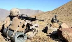 """الدفاع التركية: القضاء على """"إرهابيَين"""" من """"بي كا كا"""" شمالي العراق"""