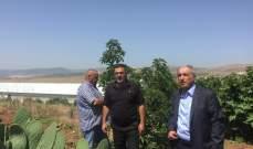 هاشم دعا الحكومة الى إيلاء الزراعة اهتماما خاصة في المناطق الجنوبية