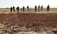 انتشال 1236 جثة من 3 مقابر جماعية في الرقة