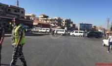 النشرة: قوى الامن تقيم الحواجز على الطرقات الرئيسية والدولية في بعلبك