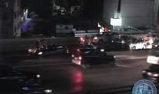 التحكم المروري: زحمة سير على جسر الدورة بسبب تسرب المازوت
