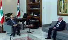 الرئيس عون أبلغ عويدات استعداده المطلق للإدلاء بإفادته في انفجار المرفأ إذا رغب المحقّق العدلي بالاستماع إليه