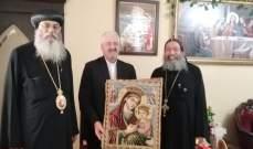 اتحاد اورا عرض مع الانبا انطونيوس لاوضاع مسيحيي الشرق