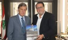 شقير استقبل السفير اليوناني وبحث معه العلاقات الإقتصادية