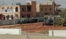 النشرة: اطلاق نار  وقذائف في حي الحمودية ببريتال بين الجيش والمطلوبين