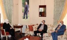 الحريري بحثت مع حجازي بشؤون إنمائية ومع الخطيب بالتحضير لمرحلة اللقاحات للفلسطينيين