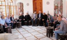 تيمور جنبلاط التقى وفودا نقابية واجتماعية وبلدية عرضت معه لقضايا ومطالب متعددة