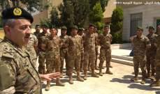 اللواء الركن أمين العرم واصل زيارته إلى الأردن