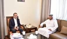 أبو فاعور عرض مع السفير الشامسي التطورات العامة