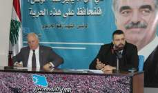 أحمد الحريري من صيدا: الرئيس المكلف حاجة وطنية ولن يرضخ لأي ابتزاز