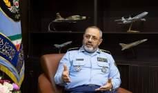 قائد سلاح الجو الايراني: سنصبح أقوى من السابق في مجال الحرب الالكترونية