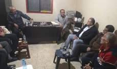 """""""فتح"""" في المية ومية تستقبل وفداً من حركة """"حماس"""""""