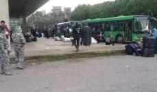 أكبر دفعة طوعية من النازحين السوريين غادرت طرابلس عائدة إلى بلادها
