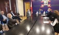 وزارة العمل تضع خارطة طريق لتنفيذ حملة توعية شاملة من مخاطر فيروس كورونا