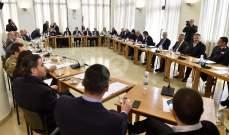 سجال وشجار بين النائبين أيوب حميد ومحمد الحجار في بداية جلسة لجنة المال