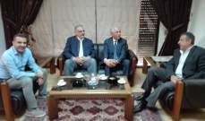 زعيتر والمقداد عرضا ملف الضم والفرز في البقاع الشمالي مع رئيس التنظيم المدني
