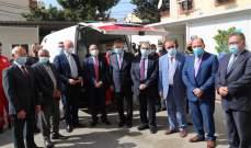 افتتاح قسم علاج كورونا في مستشفى الهمشري في صيدا