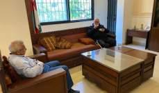 سعد بحث مع رئيس بلدية صيدا الأوضاع الصحية والمعيشية في ظل التعبئة العامة