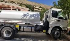 بلدية شبعا من صندوق التنمية الكويتي صهريجا لنقل المياه العذبة