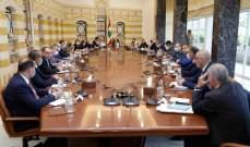 مصادر النشرة عن جلسة مجلس الدفاع الأعلى: غطاء سياسي لملاحقة المخططين لأعمال التخريب