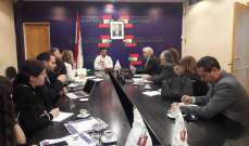 وفد من منظمة العمل الدولية زار وزارة العمل وعرض مشروع قانون الضمان