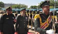 رئيس اركان الجيش الإماراتي يشيد بمشاركة القوات السودانية بحرب اليمن